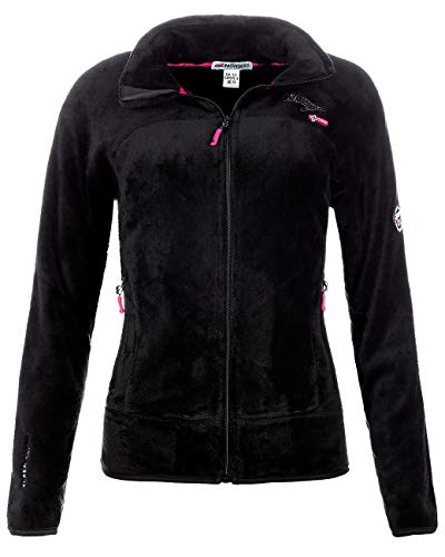Geographical Norway Damen Fleecejacke Black XL