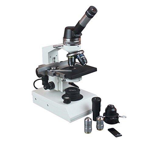 Radical 1500x profesional Biología contraste de fase microscopio w geológico Kit de polarización