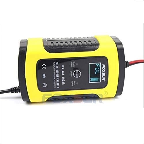 Arrancador De Coches Automático lleno de coche cargador de batería de 12V 6A inteligente de la energía de carga rápida visualización digital de pulso seco mojado Reparación Arrancador De Baterias