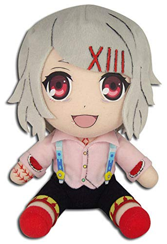 GE Animation GE-52927 Tokyo Ghoul Juuzou Suzuya Stuffed Plush Multi-colored, 8 inches