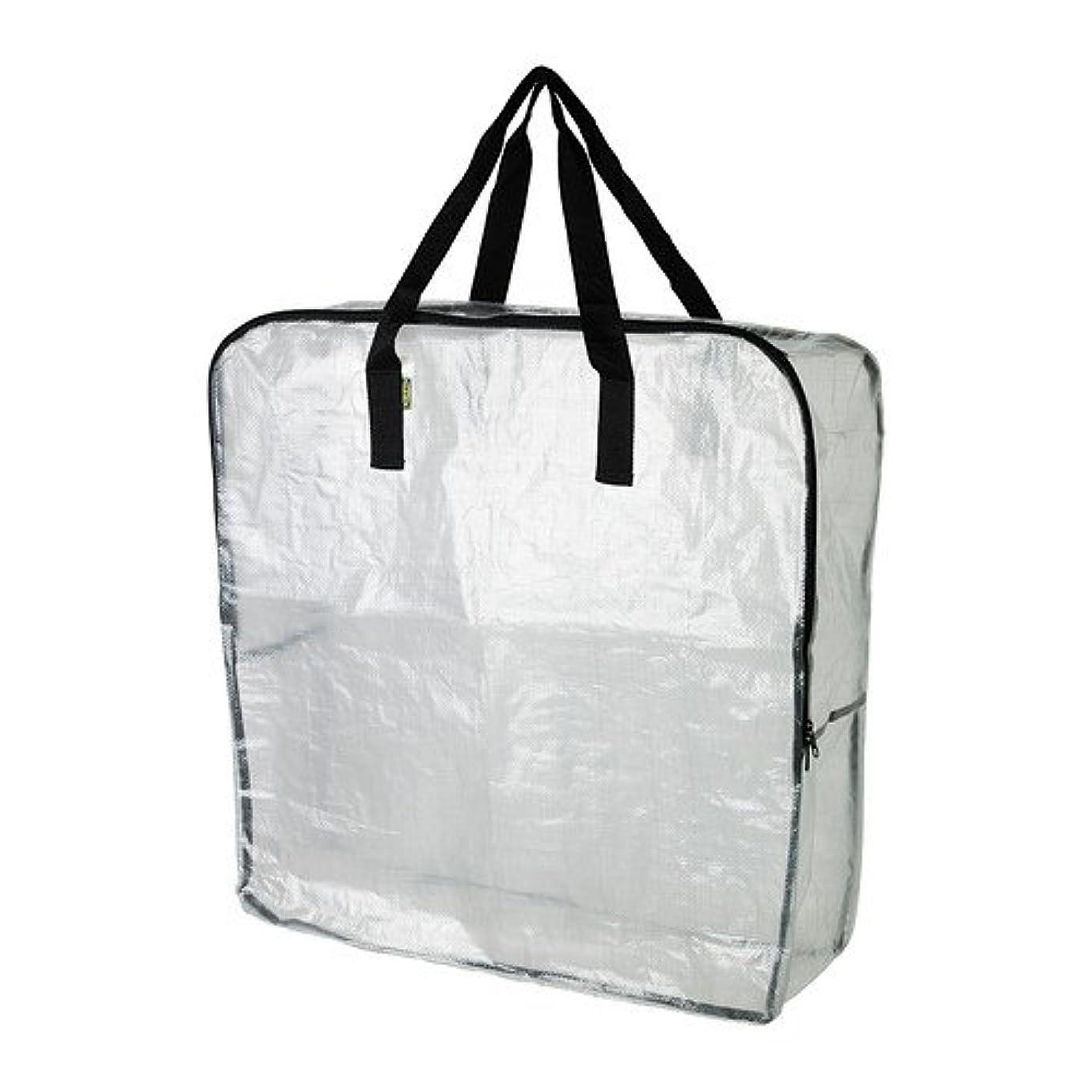人間ジャズ重要な役割を果たす、中心的な手段となるIKEA(イケア) DIMPA 90187753 収納バッグ, 透明