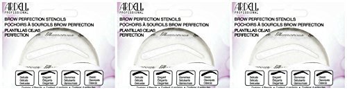 Ardell Brow Perfection Stencils 4 Stencils Pack of 3 by Ardell