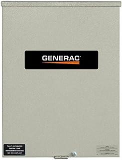 Generac RXSC100A3 100 Amp 120/240 Single Phase NEMA 3R Smart Transfer Switch for Standby Generators