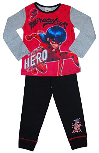 Pijamas de niña de Miraculous Own Hero 4-5 años
