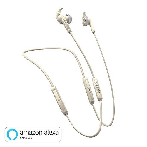 Jabra Elite 45e Alexa Enabled Wireless Bluetooth in-Ear Headphones – Gold Beige