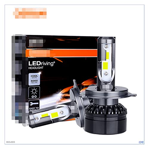 SUNYANG Summer Solstice H7 LED 9012 HIR2 H1 LED Lampada HB2 9003 H4 LED Faros LED 9005 9006 HB4 HB3 HB3 H11 Fog Light Coche Bulb 6000k Lámpara Blanca LED (Socket Type : H4/9003/HB2 Hi/Lo)