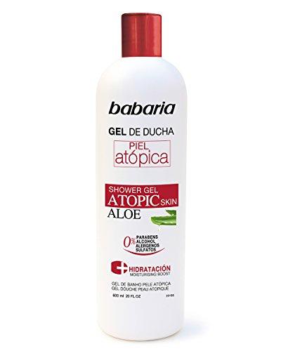 Babaria Gel De Ducha Piel Atópica Aloe -  600 ml
