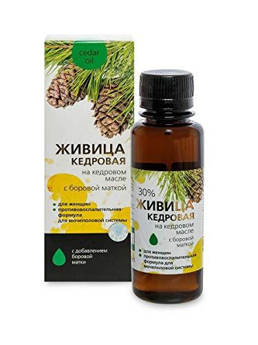 Zedernharz mit Birngrün und kaltgepresstem reinem Zedernöl 100 ml