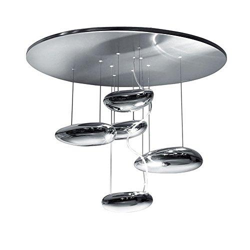 Artemide Mercury mini Soffitto LED, Chrom glänzend, 3.000 K
