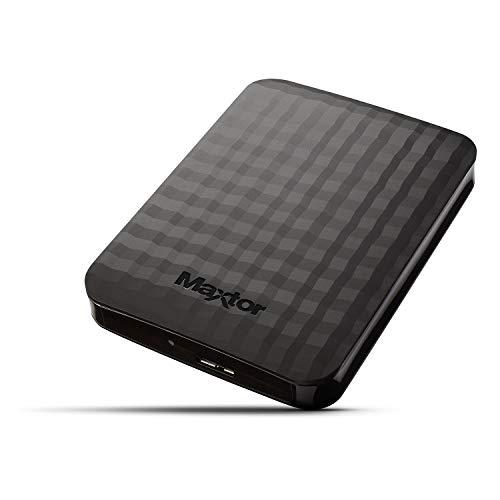 Maxtor STSHX-M101TCBM Disque Dur Externe 1 To USB 3.0 Noir