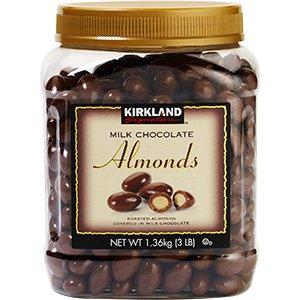 Kirkland signature chocolate almonds 1.36kg