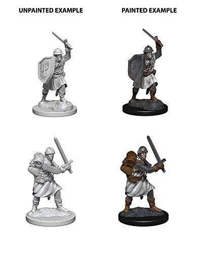 Wizkids Infantrymen Pathfinder Deep Cuts Unpainted Miniatures