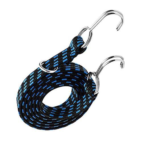 Ariyalk 3M - Cuerda elástica para equipaje de moto o bicicleta, con gancho, cuerda tensora de goma tensora en diferentes correas de amarre