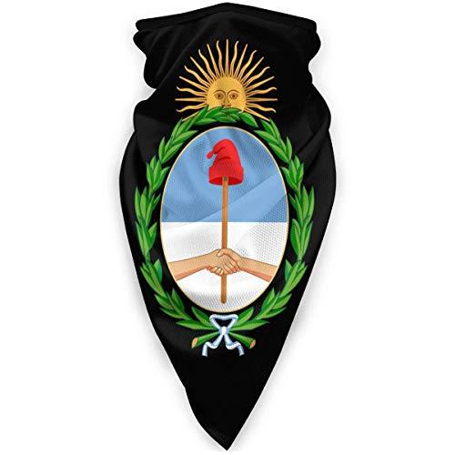 Zome Lag National Emblem of Argentina Bufanda Multifuncional,Diademas para Exteriores,Hombres Mujeres Bandanas,Paño De Manguera,Magic Diadema