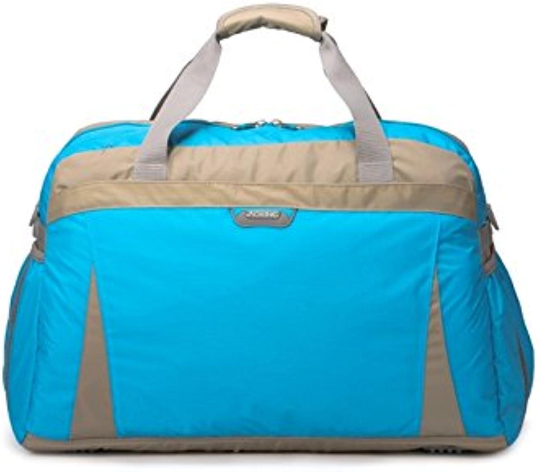 ADream Dauerhaft Outdoor-große Kapazität Kapazität Kapazität Nylon Sporttasche Sport Reisetasche Weekender Seesack (Hellblau) B07GB4P5Z2 |  Neuer Markt  0b6ec4