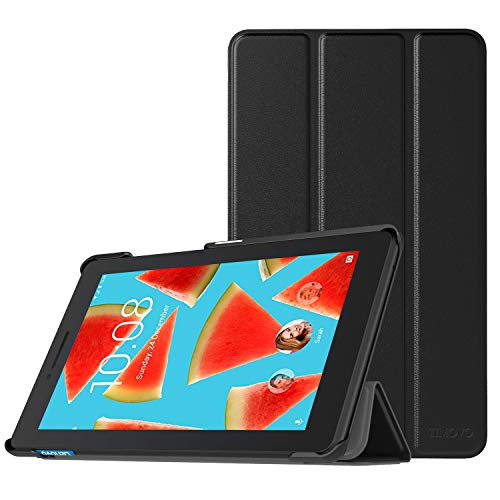 TiMOVO Case for Lenovo Tab E7, Light Weight Slim Case with Magnetic Cover Stand for Lenovo Tab E7 7 Inch 2019 Release Tablet - Black