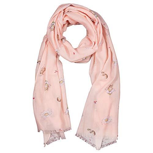 Wrendale Designs Oops-a-Daisy' Muis Roze Sjaal