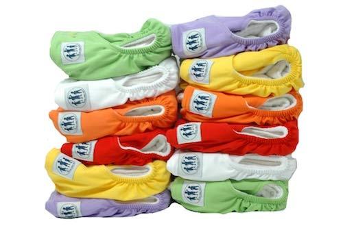 Three Little Imps Lot de 12 Couches Lavables (avec 2 inserts par couches lavables) Gamme Premium
