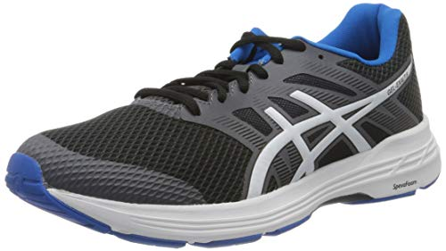 Asics Gel-Exalt 5, Running Shoe Mens, Black/White, 43.5 EU