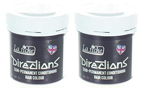 Confezione da 2 coloranti per capelli La Riche Directions - Viola Profondo