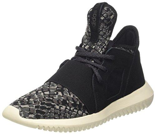 adidas Damen Tubular Defiant W Sneaker, Schwarz (Cblack/cblack/cwhite), 38 2/3 EU