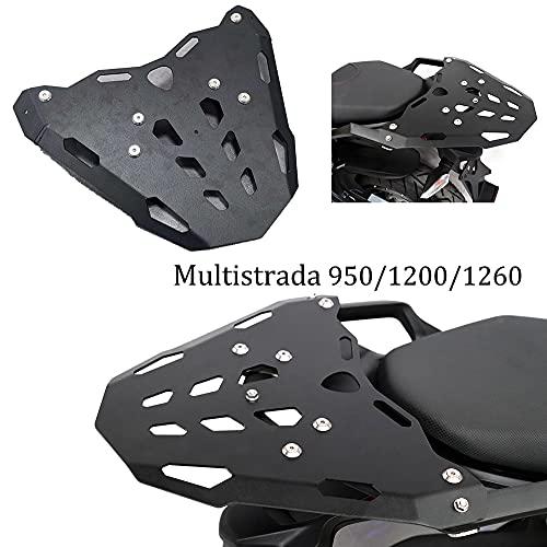 Per Ducati MTS Multistrada 950 1200 1260 2015-2020 Moto Posteriore Portapacchi Sella Borsa Zaino Box Supporto Supporto Supporto Supporto Supporto Staffa Kit