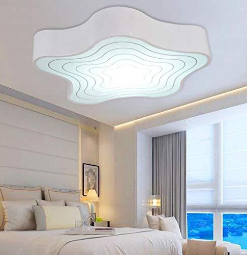 Plafondlampen – creatief navigatieapparaat gebruik je K \ u0026 uuml; modern minimalistisch woonkamerlamp dimbaar belooft kinderen plafondlamp LED – startzijde warm, afdekking (black-promise 39 cm, 18 W)