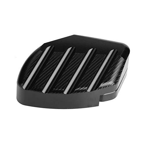 Preisvergleich Produktbild Seitenständer,  Fydun Motorrad Anti-Rutsch Seitenständer Vergrößerungsdeckel Fußständer für Forza 300 2018-2019(Schwarze Farbe)