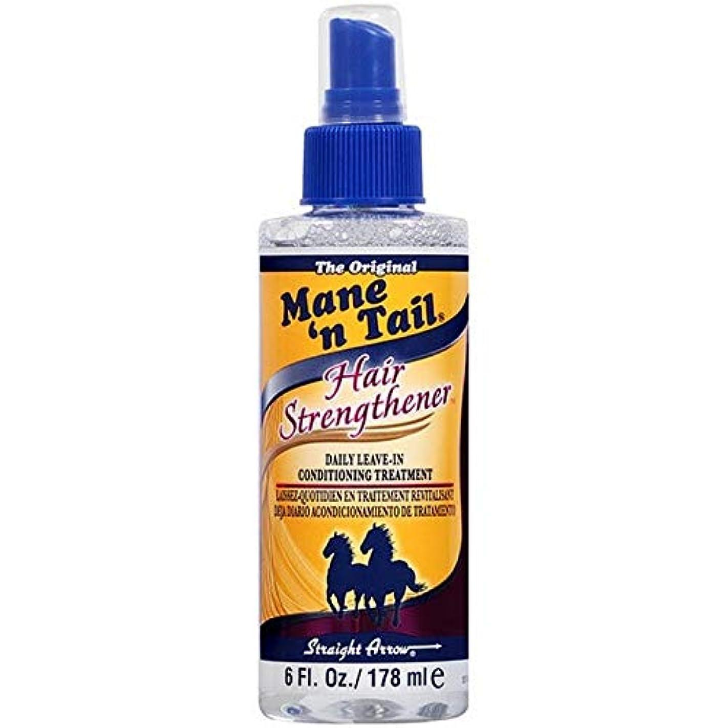 アパート想定するボス[Mane n Tail ] たてがみ「N尾毛の強化剤の178ミリリットル - Mane 'n Tail Hair Strengthener 178ml [並行輸入品]
