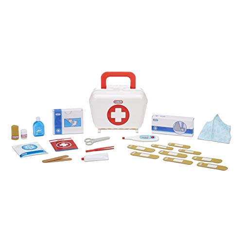 Little Tikes First Aid Kit Realistic Doctor Pretend Play Toy for Kids, Includes 25 Accessories, Ages 3+