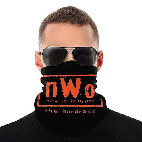 SDTSHOP NWO Wrestling Outdoor Magic Schal Bandana Schal UV-Widerstand Sport Sturmhauben Weiß