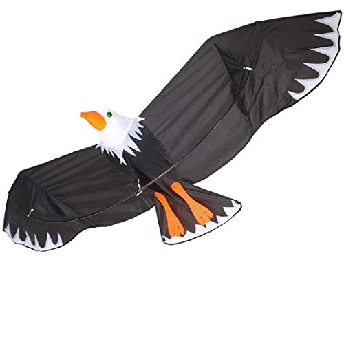ZHUOYUE Huge Bald Eagle Kites 78 inch Large 3D Bird Kite Easy...