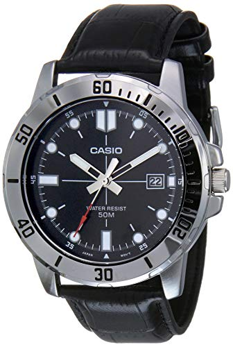 Casio Enticer Men Analog Black Dial Men's Watch - MTP-VD01L-1EVUDF(A1371)