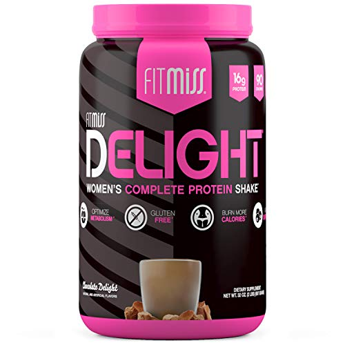 FitMiss Delight Protein Powder, Whey Protein, Chocolate, 2 pounds