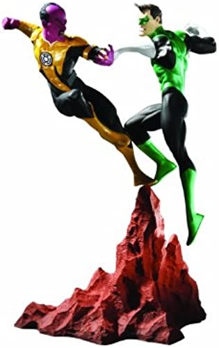 DC Direct Grün Lantern vs. Sinestro Mini Statue - New