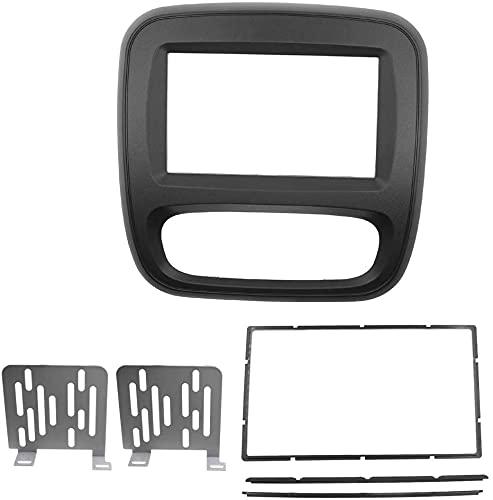 CT-CARID 2Din Autoradio DVD Fascia Pannello per Renau ltTrafic Op elVivaro 2015 Auto Stereo Installazione Pannello Pannello Kit