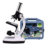 Prakal Science Microscope, Educational Toy Real Working Microscope for Kids,Students for Home