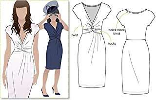 Style Arc Sewing Pattern - Jessica Dress (Sizes 04-16) - Click for Other Sizes Available