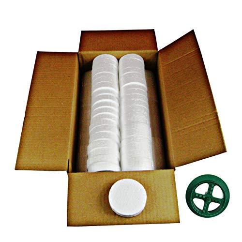 200 Stk. Styropor Rondelle für Dämmstoffdübel WDVS - Zubehör für Dämmung im WDVS Versenkwerkzeug Fräse