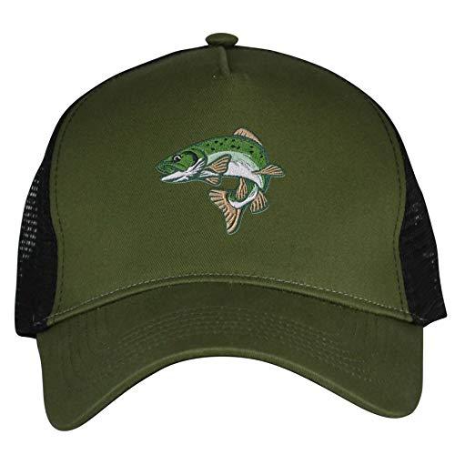 Bang Tidy Clothing Trout Fishing Hat Snapback Baseball Cap Fish Hats Gifts for Men Women