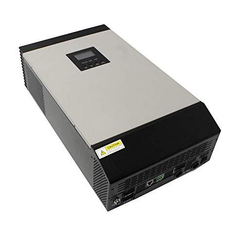BeMatik - Inversor de onda pura Axpert MKS para fotovoltaica de 5KVA 48V 4000W con MPPT