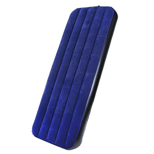 keyren Colchón Impermeable a Prueba de Agua, Estructura Resistente y fácil de Limpiar, colchón portátil, Que adopta portátil para reuniones(Blue, 185 * 76 * 22cm (Send Pump))