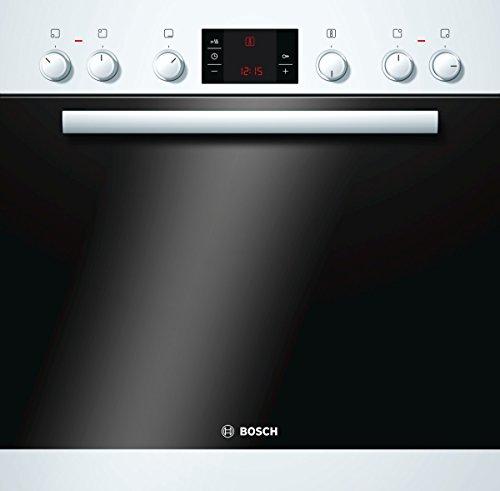 Bosch HND22PS20 Backofen-Kochfeld-Kombination / A / 66 L / weiß / 3D Heißluft Plus / 1 Zweikreis-Kochzone