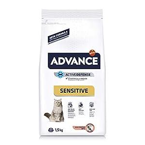 Advance Sensitive - Pienso para Gatos con sensibilidades digestivas - 1.5 kg 7