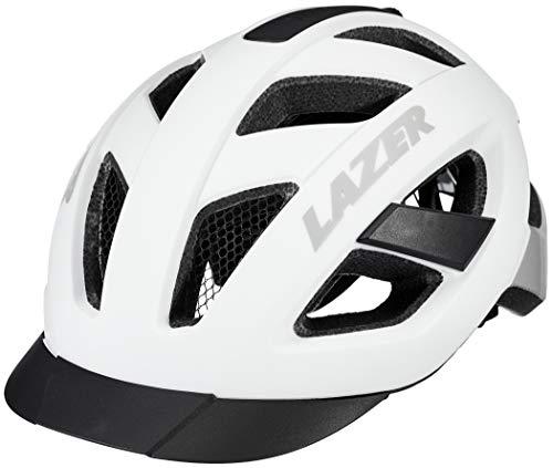 Lazer Cameleon Helm mit Insektenschutznetz Matte White Kopfumfang M | 55-59cm 2020 Fahrradhelm