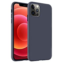 MADE OF PREMIUM SILICONE - For a soft and comfortable grip, our SmoothTouch phone case for iPhone 12 Pro Max is made of smooth, liquid silicone. It fits snugly over the buttons and curves of your iPhone 12 Pro Max for full protection. SHOCK-RESISTANT...