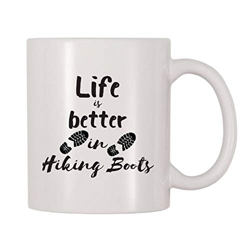 Life Is Better In Hiking Boots Mug, Special Occasions Themed Cup
