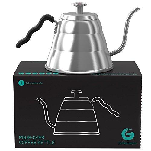 Coffee Gator Cafetera con Termómetro 1 L
