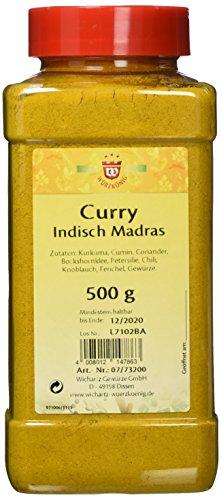 Wichartz Würzkönig Curry indisch Madras, 3er Pack (3 x 500 g)