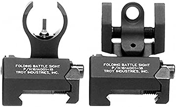 Troy Industries Micro Tritium HK Style Front and Rear Set Battle Sight